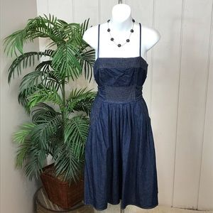 Dresses & Skirts - JFW denim dress with pockets size 9.